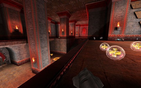 quake3 custom map ASSault 003