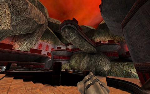 quake3 custom map ASSault 006