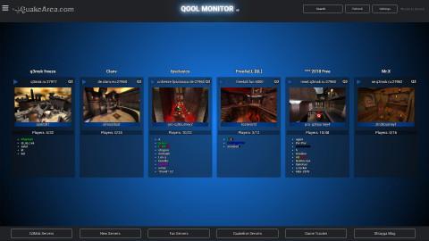 QooL-Monitor 009-Skin blackblue