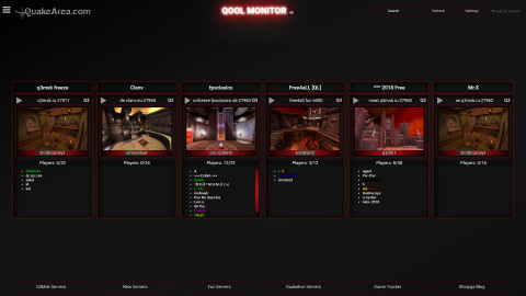 QooL-Monitor 009-Skin blackred
