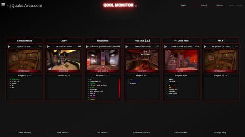 QooL-Monitor 009-Skin blackred