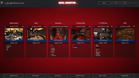 QooL-Monitor 009-Skin blackredblue