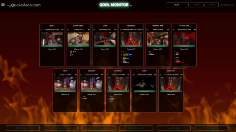 QooL-Monitor 011-Skin fire